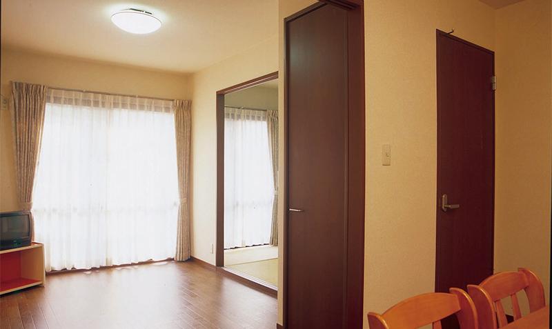 我が家のようなお部屋です。 2DK(和洋室タイプ)